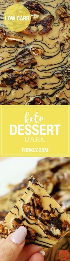 Low-Carb Keto Dessert Bark - http://m.forkly.com/recipes/low-carb-keto-dessert-bark/