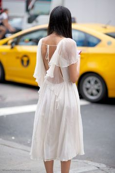 wedding dress // white // day // formal // bride // fashion