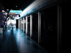 Hong Kong Underground. Evening Blue.  City by CandyMountainPhotos, €15.00