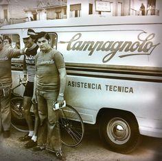 Seventies Campagnolo Service Course van.