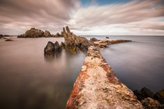 https://flic.kr/p/GxJPPk | The Pier | The old pier at Stroove beach, Inishowen, Donegal.
