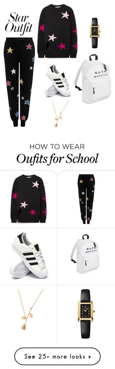 """""""Untitled #132"""" by anora-rampersad on Polyvore featuring Chinti and Parker, Givenchy, adidas, Fendi and StarOutfits"""