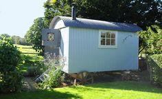 The Piano room shepherd hut