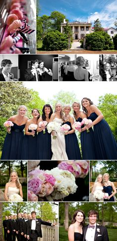 Great job by Divine Images capturing a wedding at Belle Meade Plantation!