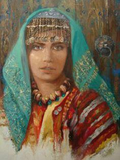 Remzi İren -.Turkish Painrter..Anadolu başlıkları