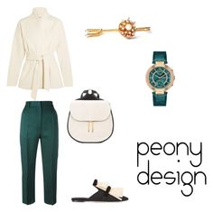 """Peony Design"" by teri-peony on Polyvore featuring Totême, MM6 Maison Margiela, Hayward and Sanayi 313"