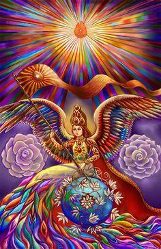 Divine Angel by Alexandre Masquio / DivineLightAngels