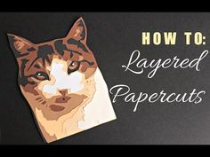 Layered Papercut | Paper cutting #6 - YouTube
