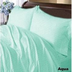 US Home Bedding Collection Egyptian Cotton Pink Strip Select Item Best Bedding Sets, Luxury Bedding Sets, Duvet Sets, Duvet Cover Sets, Blue Bed Sheets, Cheap Bed Sheets, Fitted Sheets, Cotton Sheets, Flat Sheets