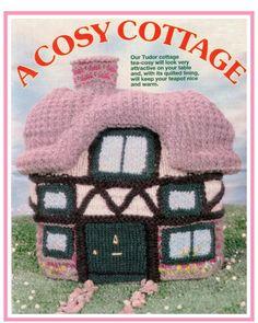 Campervan Tea Cosy Knitting Pattern : 1000+ images about CASAS CROCHET on Pinterest Crochet House, Mushroom House...