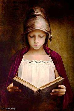 Young Girl Reading © 2016 by Dasha Riley www.dashariley.com https://www.facebook.com/DashaPhotoArt