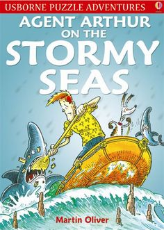 Agent Arthur on the Stormy Seas  A thrilling adventure story packed with entertaining puzzles to solve. Marooned on a not-so-deserted island, Agent Arthur finds the secret base of a gang of pirates and uses all his abilities to foil their dastardly plans. With clues throughout and puzzle answers at the back of the book. A challenging and engaging read which is also perfect for reluctant readers.