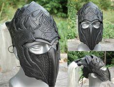 Drow Helmet comm by ~Sharpener on deviantART