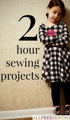 If you have a few hours and nothing to do, check out one of these easy sewing projects that you can complete in just a few hours. These sewing project ideas can be created in a jiff. Free sewing patterns do not have to be complicated and these quickies ar Love Sewing, Sewing For Kids, Baby Sewing, Sewing Hacks, Sewing Tutorials, Sewing Crafts, Sewing Tips, Sewing Ideas, Sewing Clothes