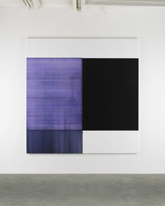 2015 Exposed Painting Dioxazine Violet Oil on Canvas | 235 x 230cm