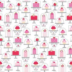 Sweetcakes Main Cakes and Cupcakes White  by spiceberrycottage, $8.95