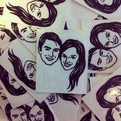 Custom Portrait Tattoo @lilimandrill www.lilimandrill.fr #etsy #EtsyGifts #bachelorette #etsywedding #wedding #mariage #bride #diy #couple #giftforcouple #DifferenceMakesUs #gift #tattoo #temporarytattoo #favor #weddingfavor #party #engagement #uniquegift