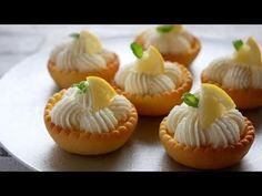 さくさく甘酸っぱい~レモンタルト| Lemon tart - YouTube French Desserts, Asian Desserts, No Cook Desserts, Lemon Desserts, Chocolate Pastry, Banana Com Chocolate, Chocolate Tarts, Dessert Party, Party Desserts