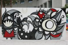 Houda Lazrak Curates NYU Abu Dhabi <em>First Live Painting</em> Event: Fats, Steffi Bow, SyaOne, Enforce1 and Just1