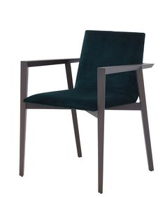 The Mogador chair comes in two brilliant colors with the option to customize seating.
