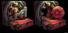 Experiments in Sci-Fi Door Design - Page 5 - Polycount Forum