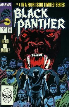 South African apartheid drives this miniseries: T'Challa investigates a neighboring segregationist kingdom. Written by fan-turned-pro Peter B. Gillis; art by Milestoner Denys Cowan.
