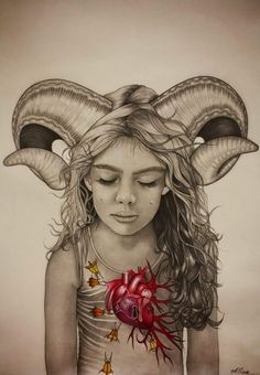 """""""Crying Aries"""" by Alessia Iannetti"""