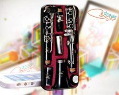 Clarinet Box - design for iPhone 5 Black case