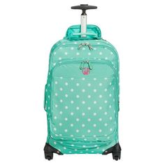 Carry on bag with toiletry, lunch, backpack, and rolling duffle. All sold seperatly