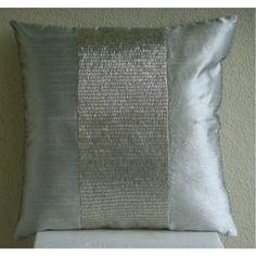 Designer Silver Cushion Covers, Contemporary Solid Pillow... https://www.amazon.com/dp/B004W0F32O/ref=cm_sw_r_pi_dp_x_M0PrybZJZGV31