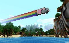 76 Best Nyan Cat Pekachu And Minecraft Images Minecraft Ideas