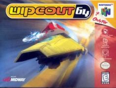 Wipeout 64 - It goes as fast as an N64 game can go.