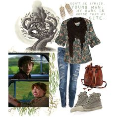 12/70 The Whomping Willow, created by girloverboard on Polyvore