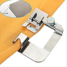 Buy Overlock Overedge Overcasting Foot for Brother Singer Janome Juki Sewing Machine at Wish - Shopping Made Fun Sewing Hacks, Sewing Tutorials, Sewing Tips, Sewing Ideas, Diy Couture, Leftover Fabric, Love Sewing, Janome, Sewing Projects For Beginners
