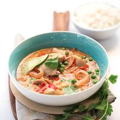 Slow Cooker Thai Chicken Soup Recipe - Foodie Crush
