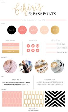 Blog Design Colors