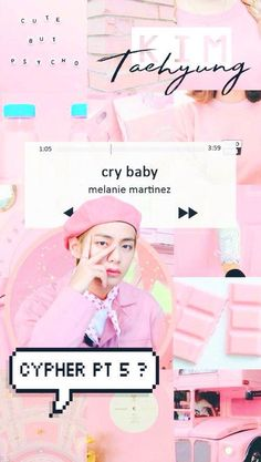 Jungkook Jimin, Kim Taehyung, Cry Baby Melanie Martinez, Army Wallpaper, Iphone Wallpaper, Bts Big Hit, Jin, Bts Backgrounds, Bts Lockscreen