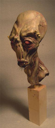 Vincent the Critic by SculptorSteve on dA