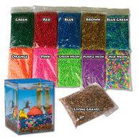Classic EcoAquarium Colored Gravel / Living Gravel Combo: suppliesf for Sam & Dean