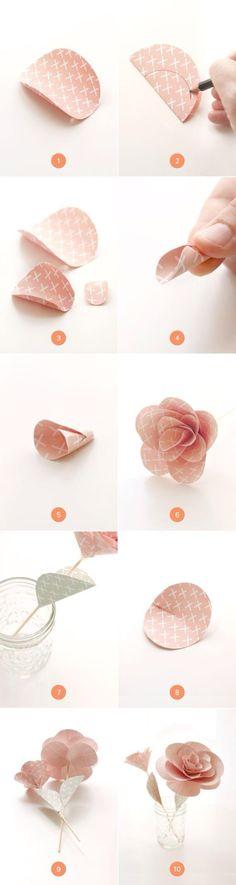 Super easy flower