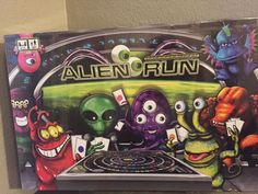 Alien Run for Riches Board Game Si-Fi Strategy Family Fun Game ~ New! #MarbleCanyonGames