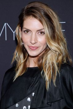 Dawn Olivieri at the Showtime 2014 EmmyEve Soiree. Hair by Derek Williams. Makeup by KC Fee.