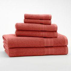Egyptian Cotton 6-pc. Bath Towel Set