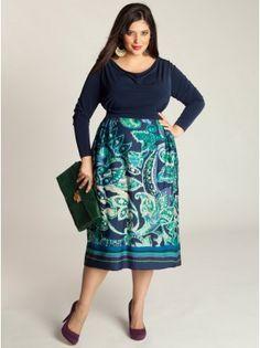 "Faina Plus Size Dress - Work Dresses by IGIGI Model Info: Wearing Size 14/16, Height - 5'10"", Shape - Hourglass"