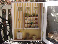 The Potting Shed: Bee Themed Gardeners Room by BeautifulEarthStudio.deviantart.com on @deviantART