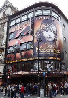 Les Miserables in London Summer 2011