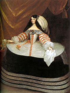 Doña Inés de Zúñiga, Condesa de Monterrey, Juan Carreño de Miranda, ca. 1660