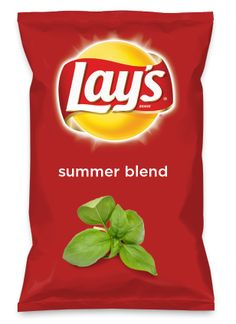 Wouldn't summer blend be yummy as a chip? Lay's Do Us A Flavor is back, and the search is on for the yummiest flavor idea. Create a flavor, choose a chip and you could win $1 million! https://www.dousaflavor.com See Rules.