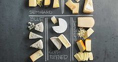 Whether you're seeking the star of your next cheese board or the best cheese for your next sandwich, macaroni and cheese, salad, or pizza, here's you're guide to navigating the many types of cheeses available today. Charcuterie And Cheese Board, Cheese Boards, Recipes Appetizers And Snacks, Snack Recipes, Food Hacks, Cooking Hacks, Cheese Shop, Best Cheese, Heart Healthy Recipes
