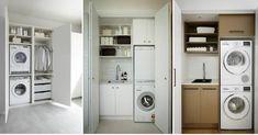 Ideas para una lavandería mini